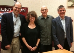 """Dream Team"": Lerangis, Watson, Korman, Riordan"